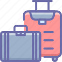 baggage, travel, suitcase, luggage