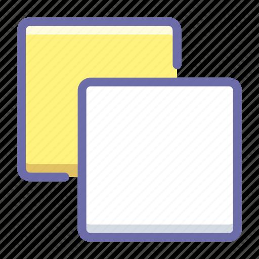 copy, layers, swap icon