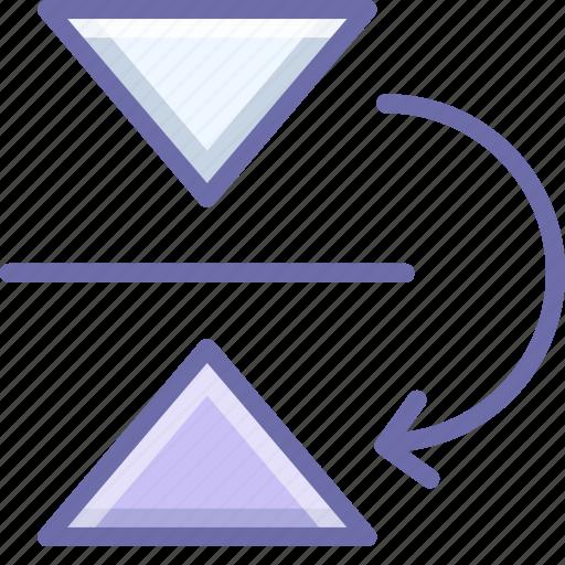 flip, mirror, vertical icon