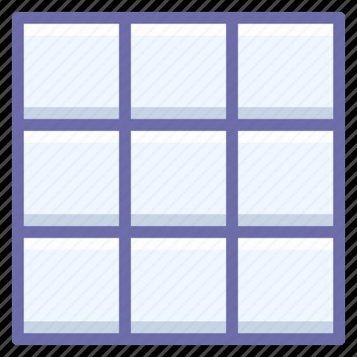grid, mesh icon