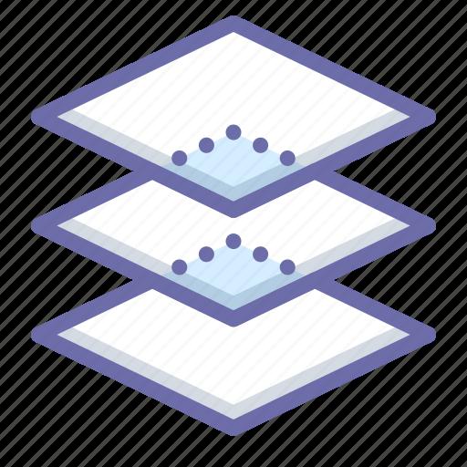 arrange, layers, stack icon