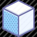 cube, edge icon