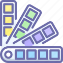 color, pallete, pantone icon