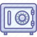 deposit, money, safe icon
