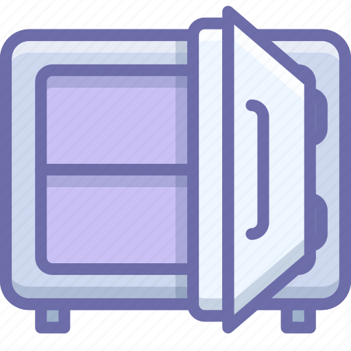 deposit, money, safe icon