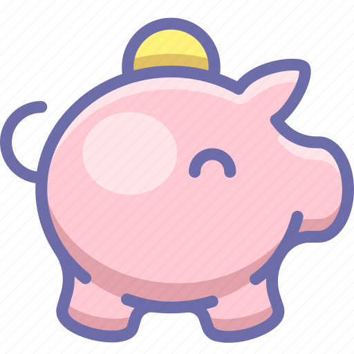 cash, money, piggy bank icon