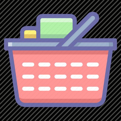 basket, checkout, shopping cart icon