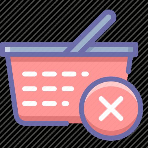 Basket, delete, shopping icon - Download on Iconfinder