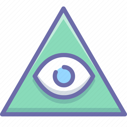 eye, god, pyramid icon