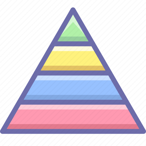career, pyramid, structure icon