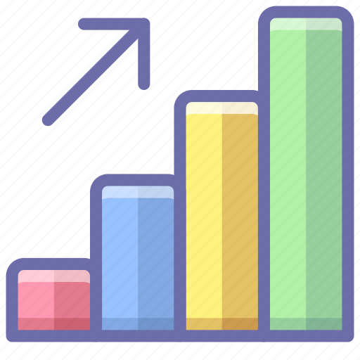 Analytics, career, growth icon - Download on Iconfinder