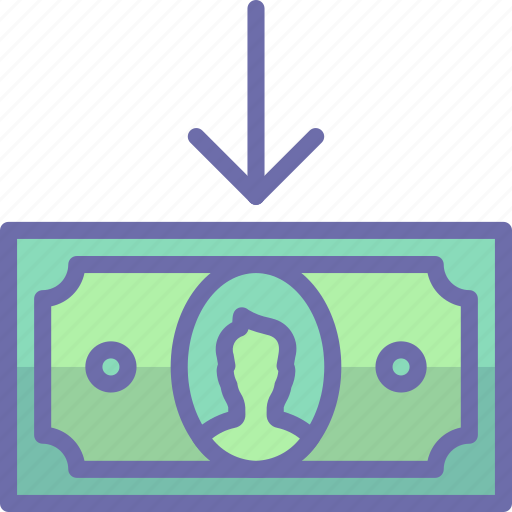 Cash, cashin, money icon - Download on Iconfinder