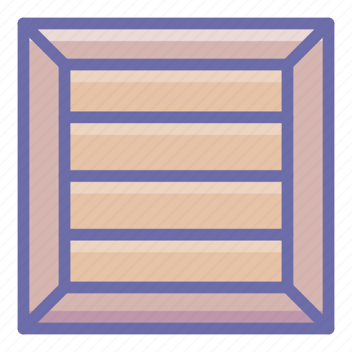 box, crate, product icon