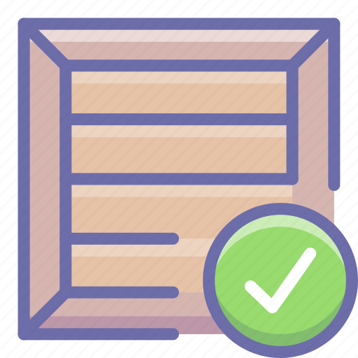 box, delivered, product icon