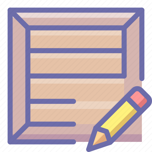 Box, edit, product icon - Download on Iconfinder