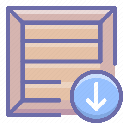 box, download, product icon