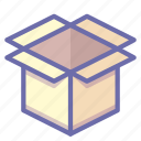 box, bundle, cargo, crate, package, product, shipping icon