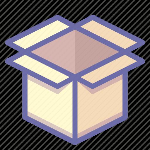 box, cargo, product icon