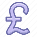 currency, finance, pound icon