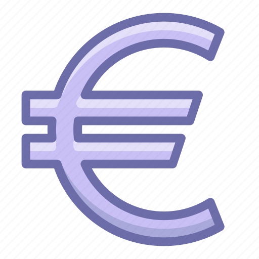 currency, euro, finance icon