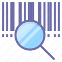 product, barcode, search icon