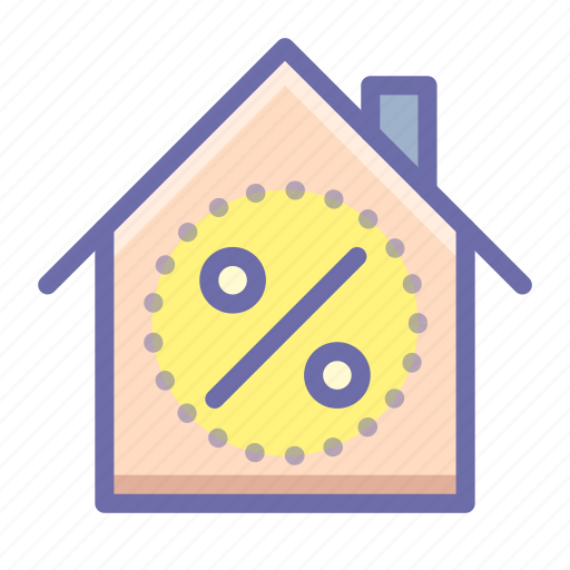 house, mortgage, property icon