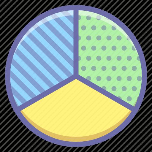 diagram, graph, pie icon