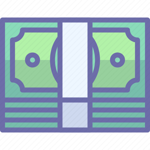 cash, money, pack icon