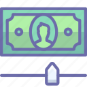 cash, credit, money icon