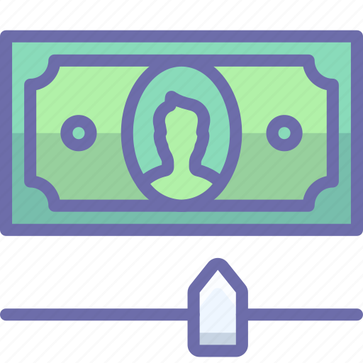 cash, credit, money icon