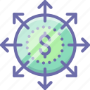 budget, business, finance, money icon