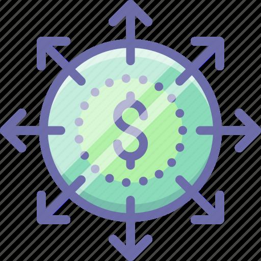 budget, business, finance, money icon