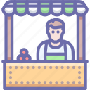 cashier, market, shop icon