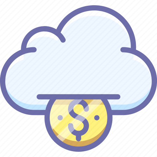 Cloud, funding, money icon - Download on Iconfinder