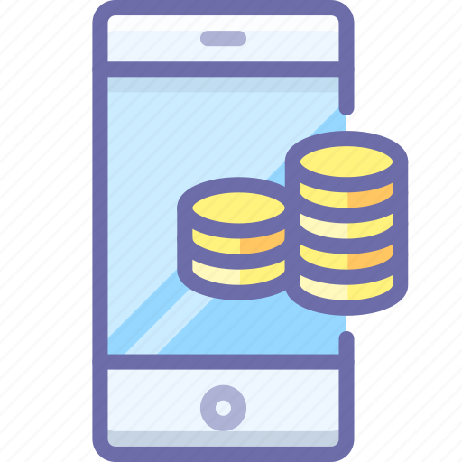 Bank, mobile, money icon - Download on Iconfinder