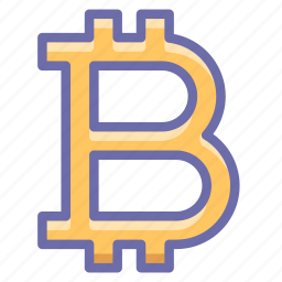 bitcoin, money, sign icon