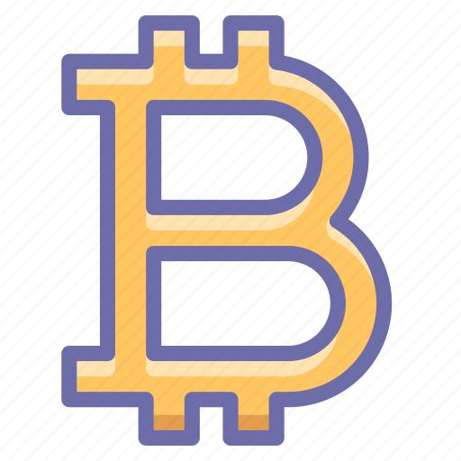 bitcoin, money, sign icon