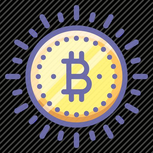 bitcoin, money icon