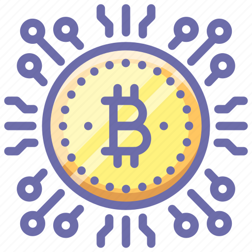 bitcoin, money icon