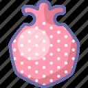 fruit, granate, new, pomegranate icon