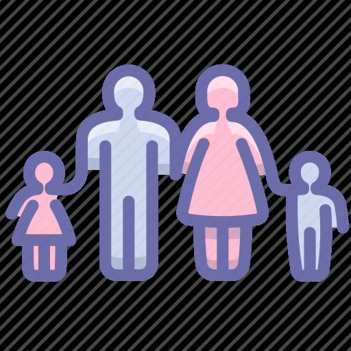 children, family, people icon