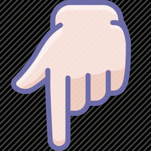 Finger, forefinger, hand icon - Download on Iconfinder