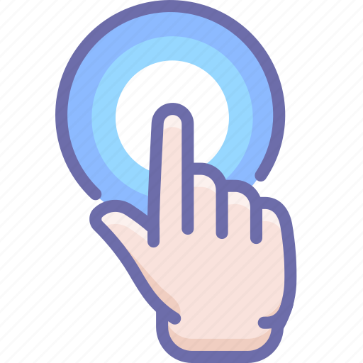 Click, finger, hand icon - Download on Iconfinder
