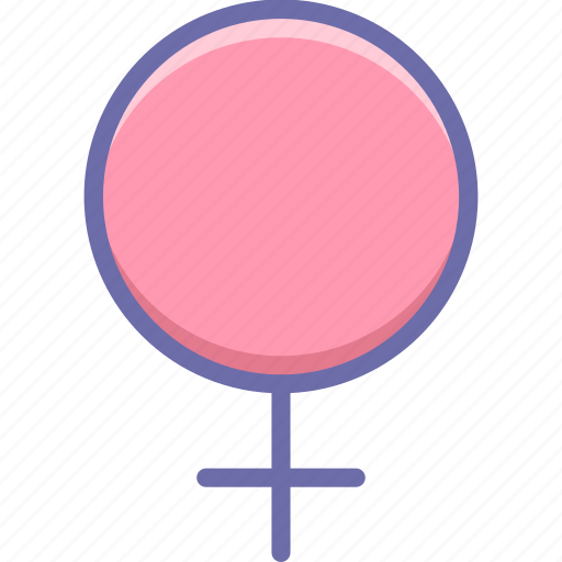 female, gender, sign icon