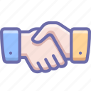 hands, handshake, partner icon