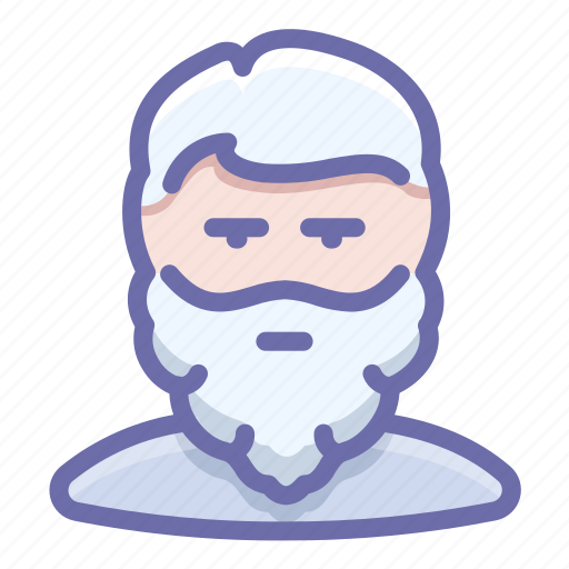 beard, man, old icon