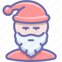 claus, grandfather, santa, xmas icon