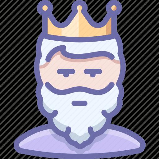 crown, king, monarch icon