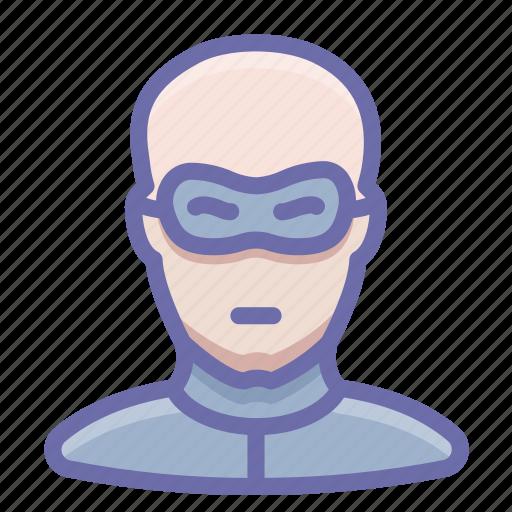 criminal, man, thief icon