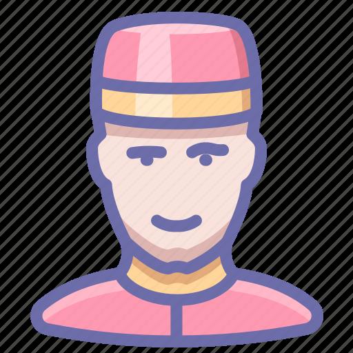 doorman, man, porter icon